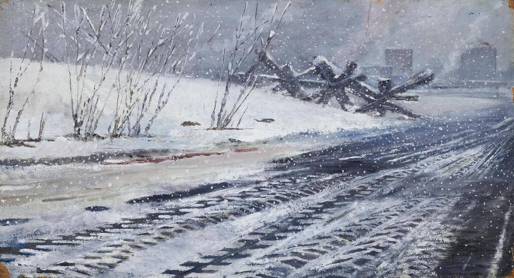 Ю.И. Пименов - Следы шин, 1944