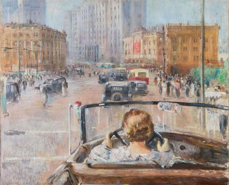 Ю.И. Пименов - Новая Москва, 1937