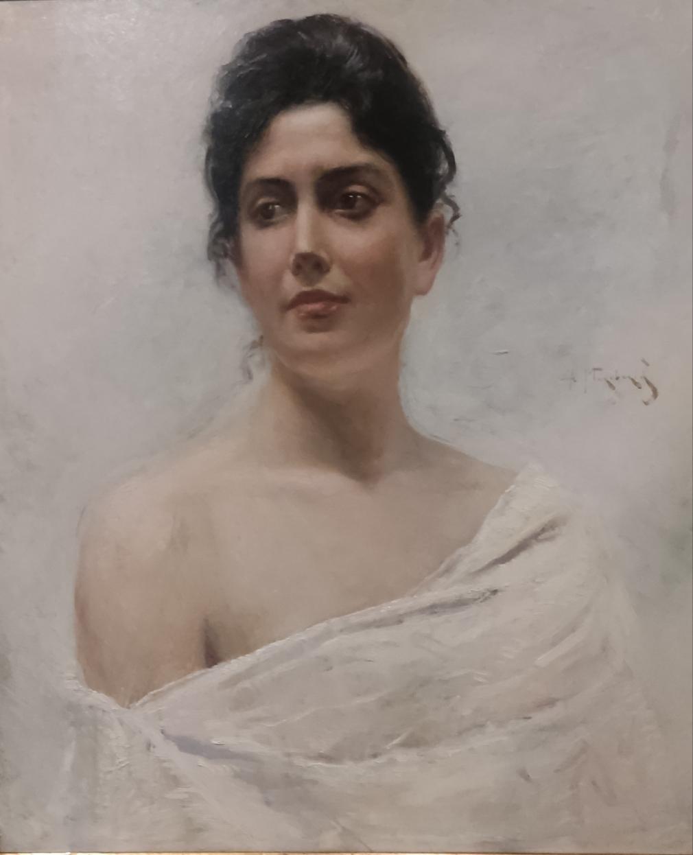 Женский портрет. Маковский А.В. 1891