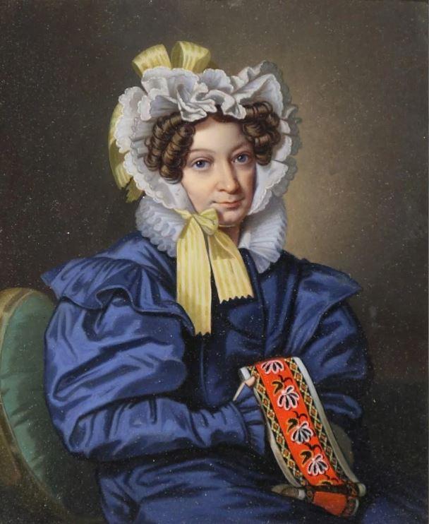Гампельн Карл Карлович - Портрет Авдотьи Михайловны Голицыной, 1830-е