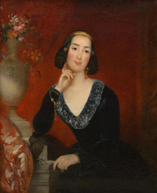 Евгений Плюшар (1809–1880) - Портрет Натальи Еропкиной