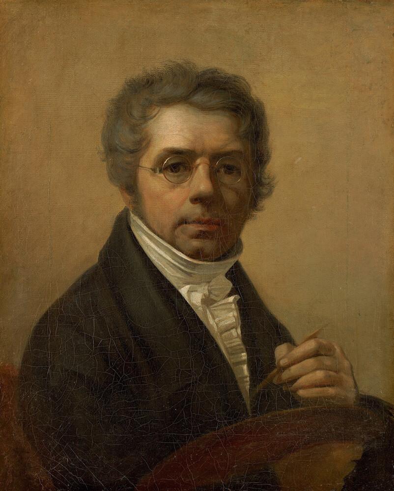А.Г. Венецианов - Автопортрет, 1811