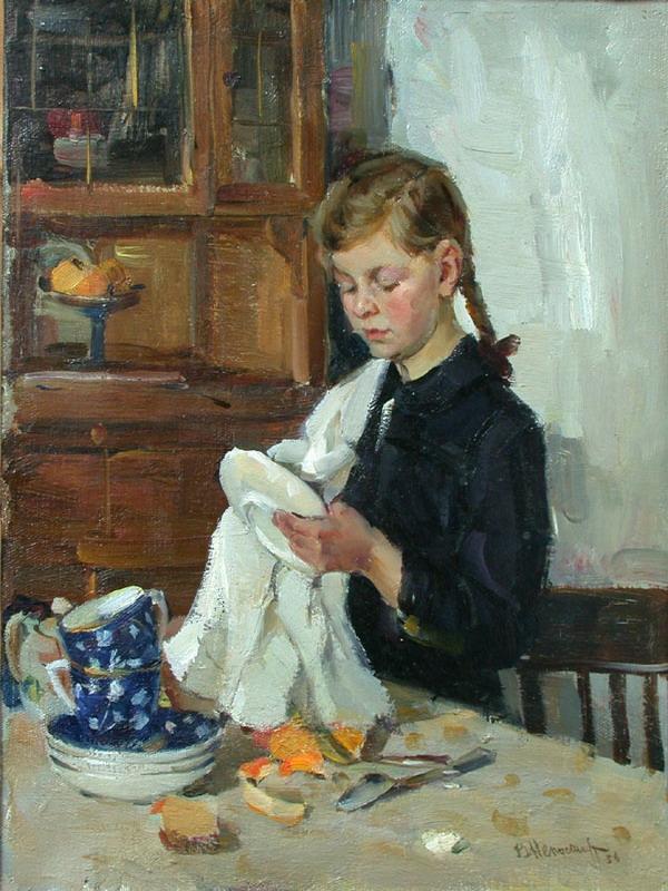 Виктор Непостаев - Мамина помощница, 1956