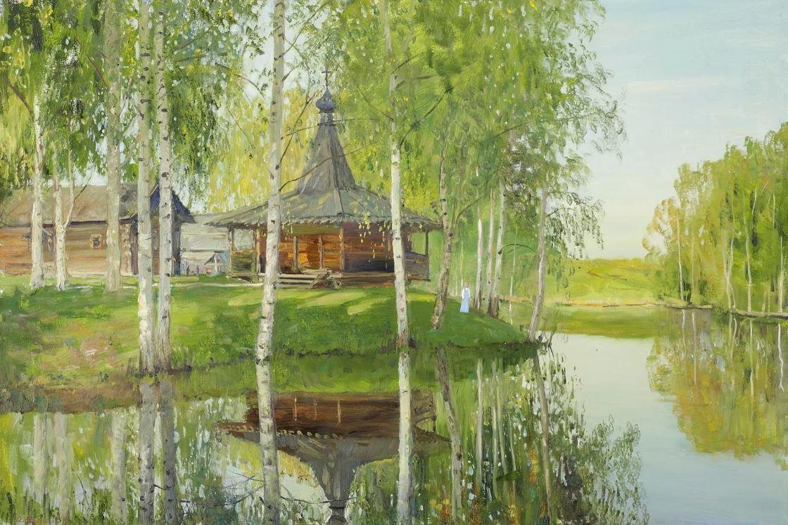 Олег Молчанов - Намоленный храм, 2019