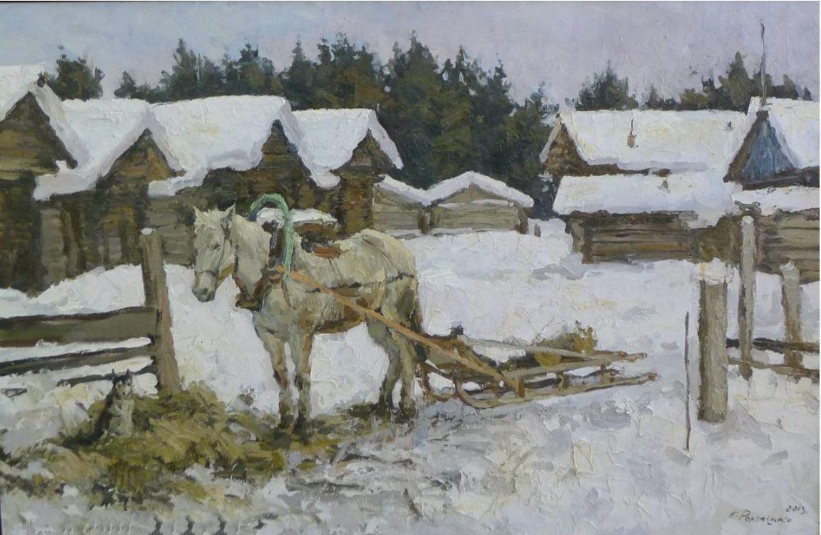 Работа Евгения Ромашко