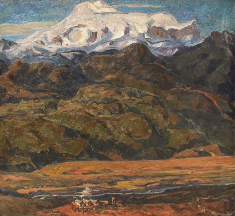 В.Г. Поленов - Кошара в горах, 1974