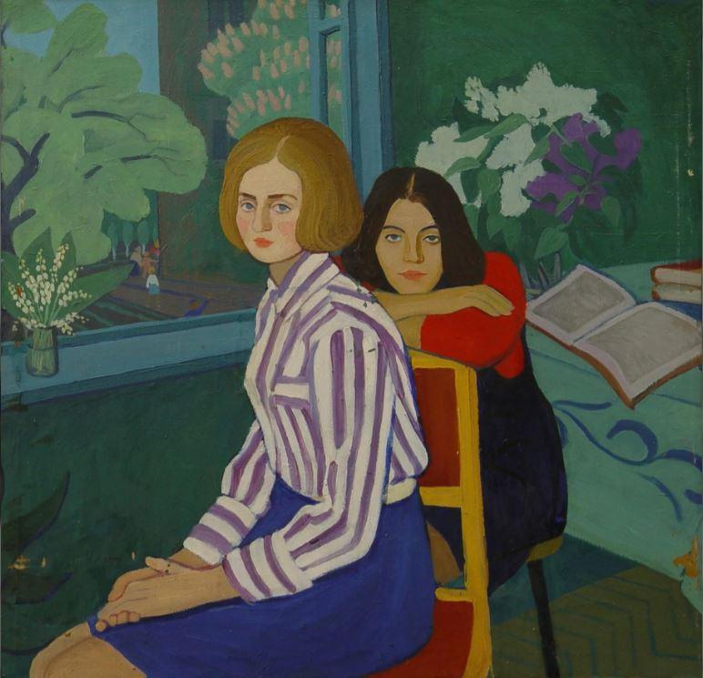 околенко А.Е. Весна. 1972