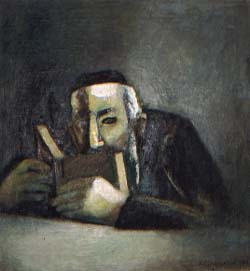 Иосеф Островский Человек с книгой