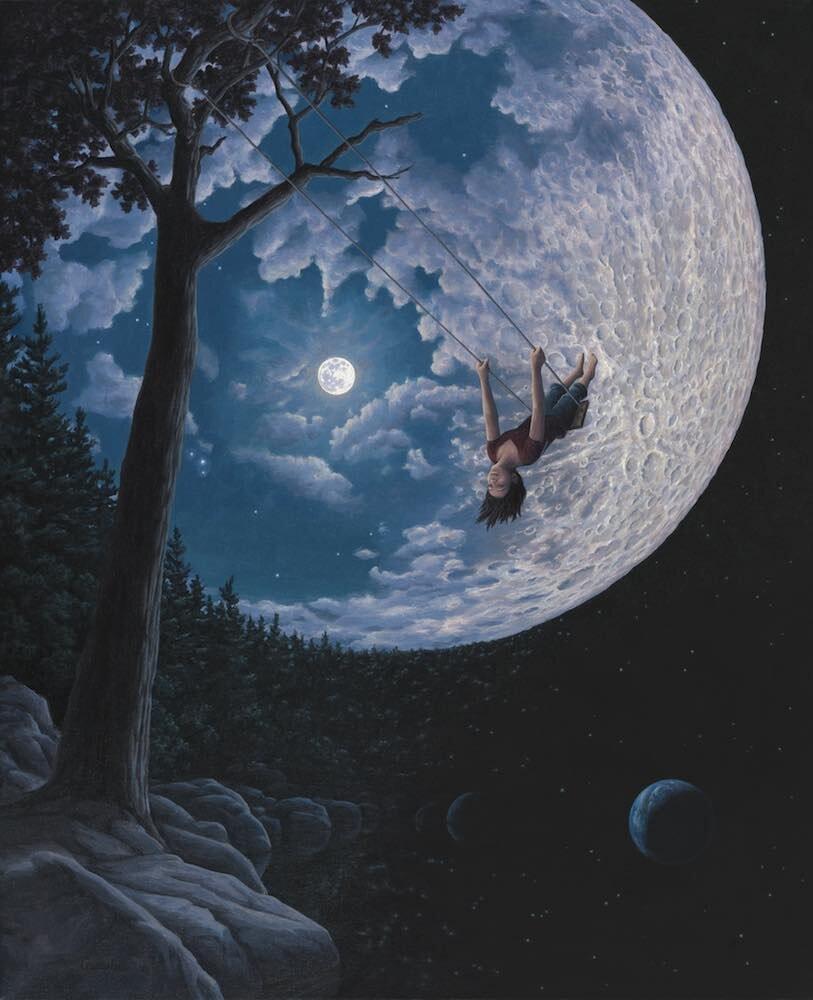Роб Гонсалвес - Over The Moon, 2015