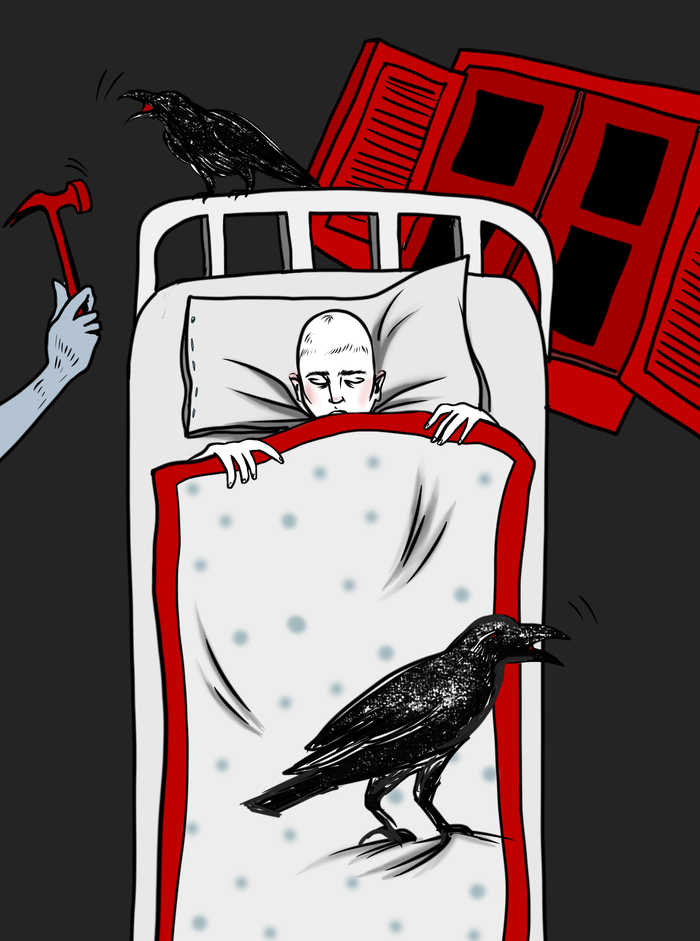 Дарья Миронова Иллюстрация к Чапаев и Пустота В. Пелевина