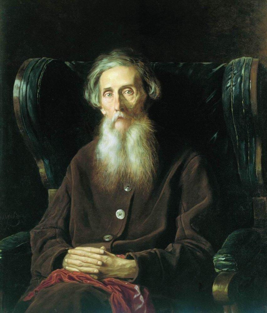 Портрет Владимира Ивановича Даля работы Василия Перов