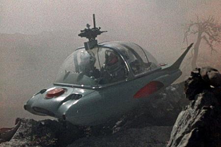 Кадр из советского фильма Планета бурь 1961
