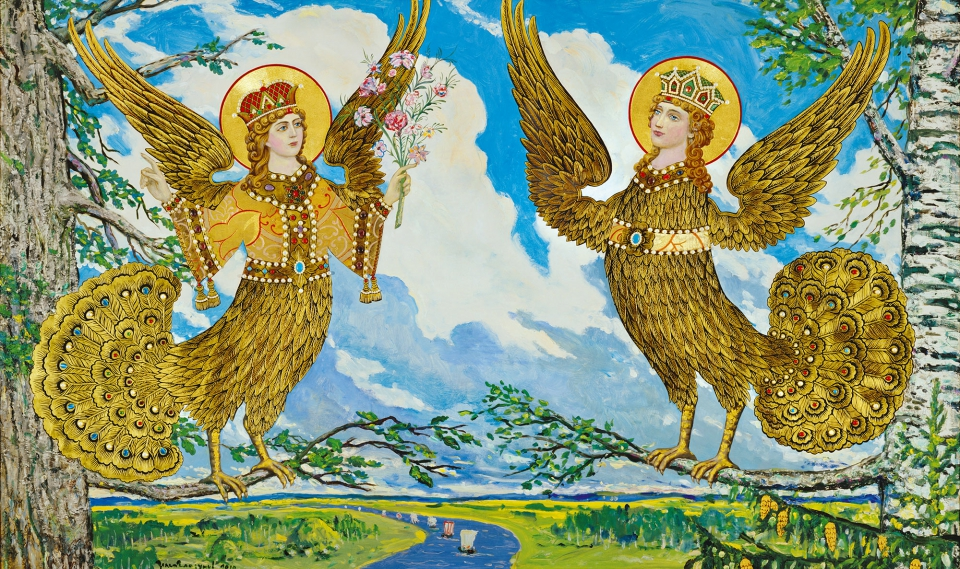 Илья Глазунов - Райские птицы Древней Руси, 2010
