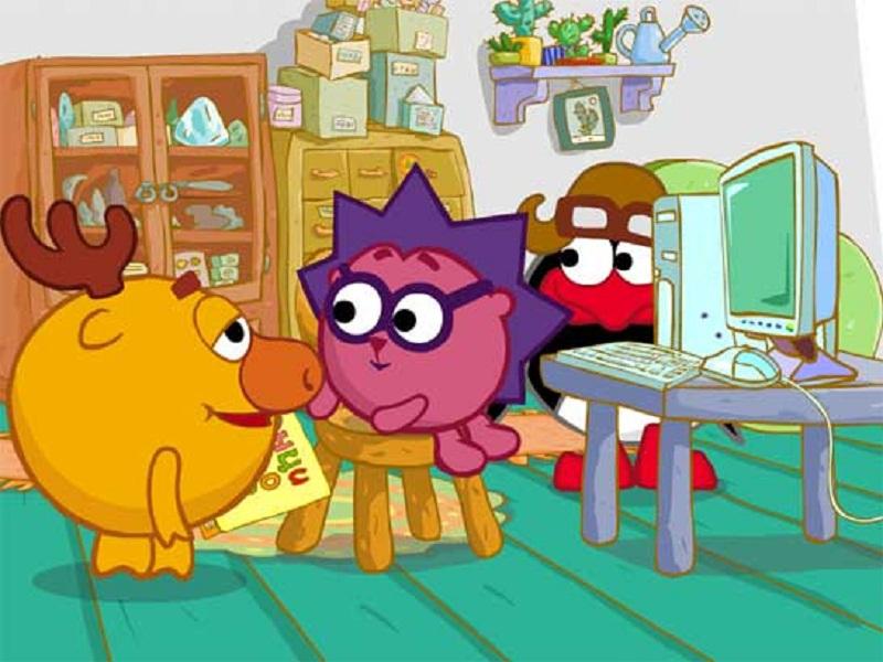 Кадр из мультсериала Смешарики