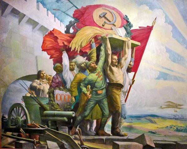 Степан Карпов. Дружба народов, 1924