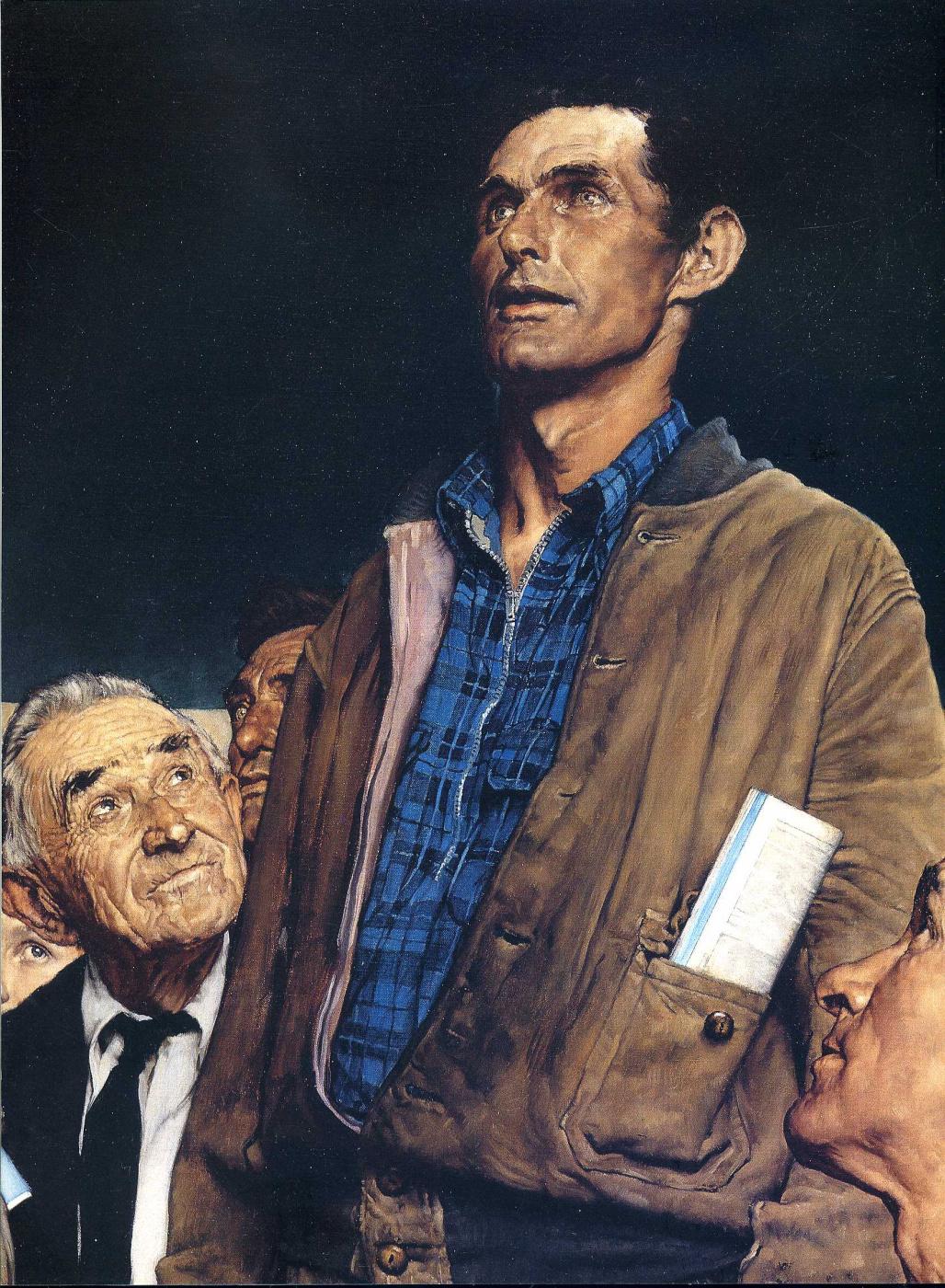 Норман Роквелл. Свобода слова, 1943