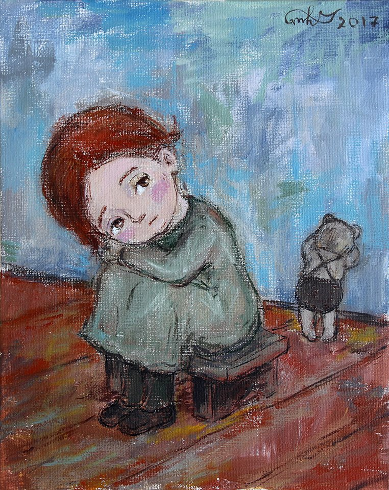 Нино Чакветадзе. Мишка Тедди, 2017