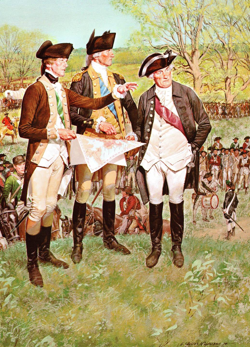 Генерал Джордж Вашингтон