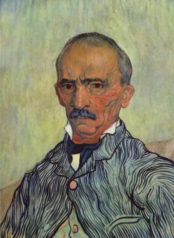 Винсент Ван Гог Портрет надзирателя лечебницы Сен-Поль