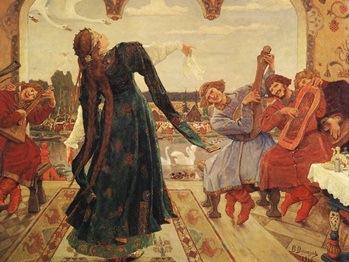 Картина русского художника Виктора Васнецова Царевна-лягушка