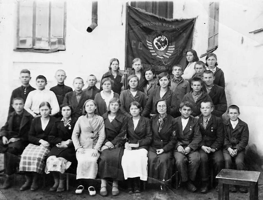 Выпусники 1941 (Калитвенская средняя школа)