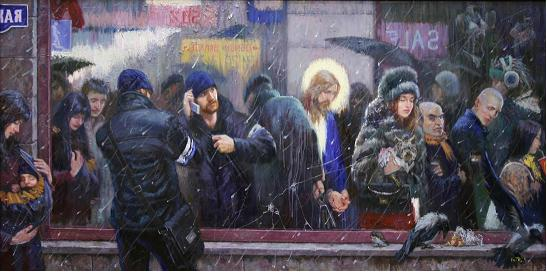 Картина современного художника Владимира Киреева Зеркало