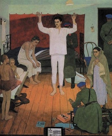 Картина художника Жилинского Дмитрия Дмитриевича 1937 год