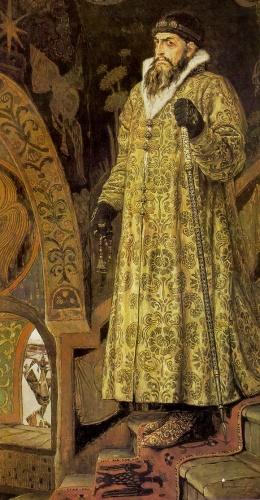 Картина художника Виктора Васнецова Царь Иоанн Грозный