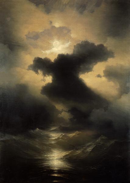 Картина художника Ивана Айвозовского Хаос Сотворение мира