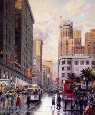 Картина американского художника Томаса Кинкейда
