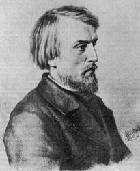 Белинский - рисунок И.А. Астахова