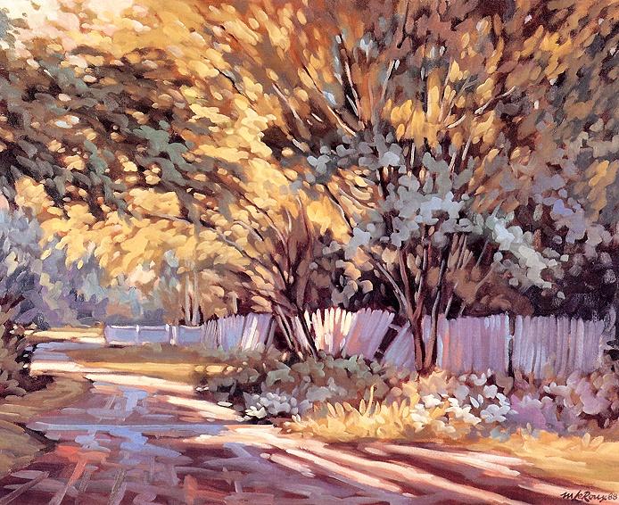 картина канадского художника Мишеля Леру