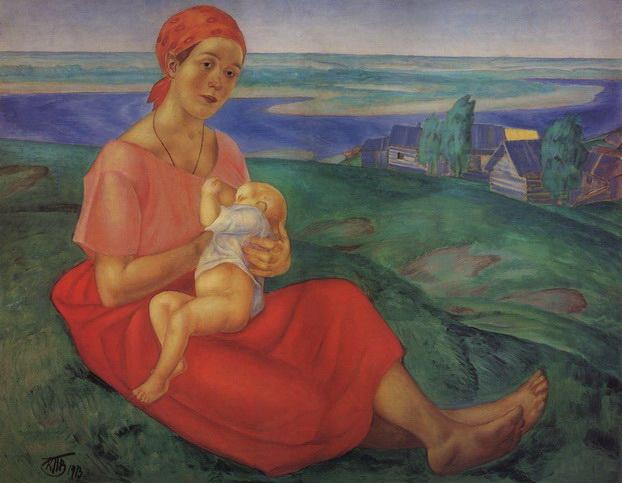 Петров-Водкин Мать
