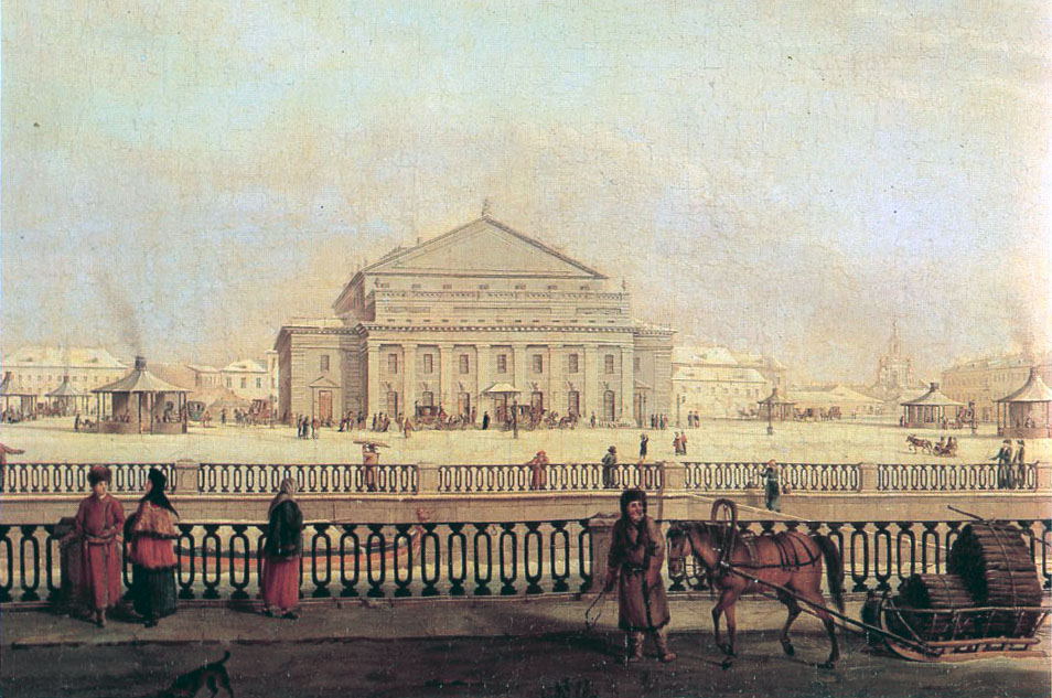 И.-Г. де Майер Большой Каменный театр (Мариинка)
