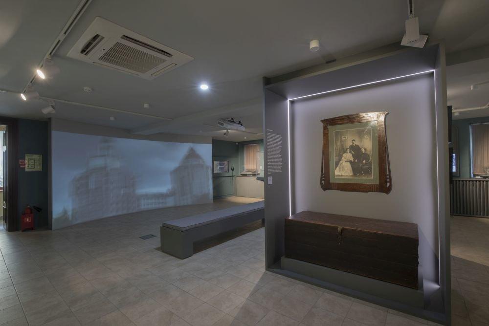 Экспозиция по истории Замоскворечья с интерактивной картой