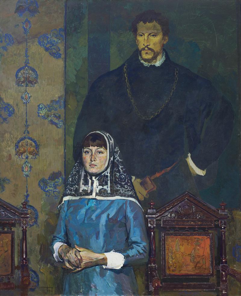 Вычугжанин Аркадий Иванович. Портрет художника театра С. Гаращук. 1969