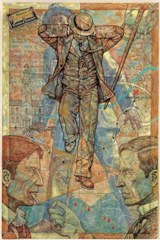 Иллюстрация художника Антона Ломакина к роману Набокова В.В. Отчаяние