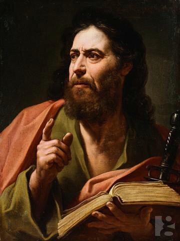 Картина Святой Павел  художник Этьен Парросель, называемый Римский
