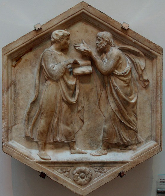 картина художника раннего итальянского Возрождения Лука делла Роббиа