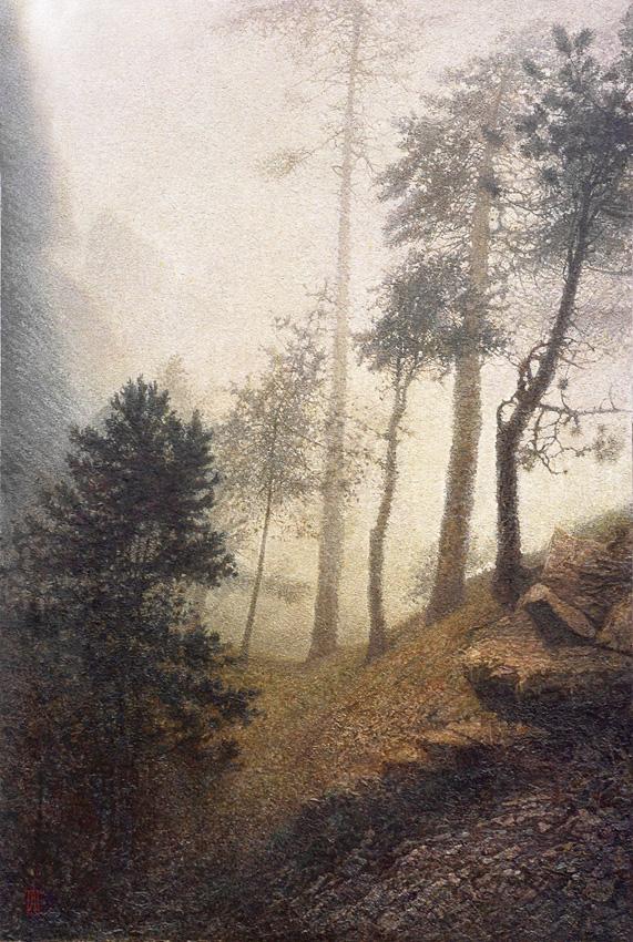 Картина художника Александра Павленко По ту сторону дня