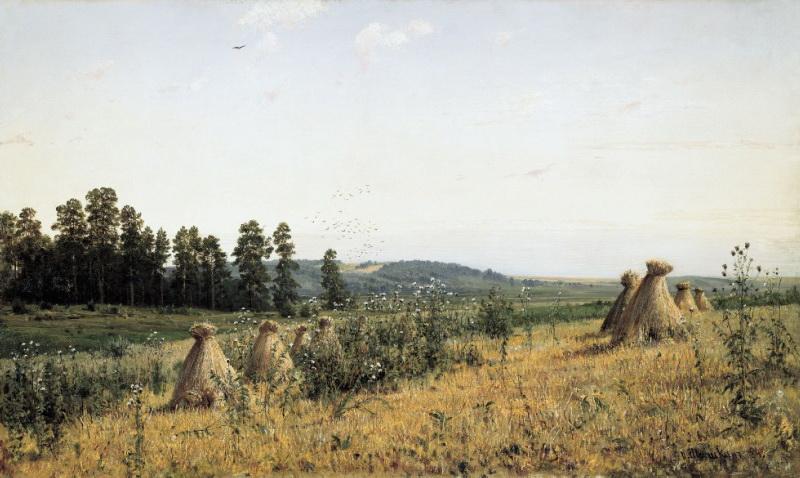 Картина художника Ивана Шишкина Пейзаж Полесья