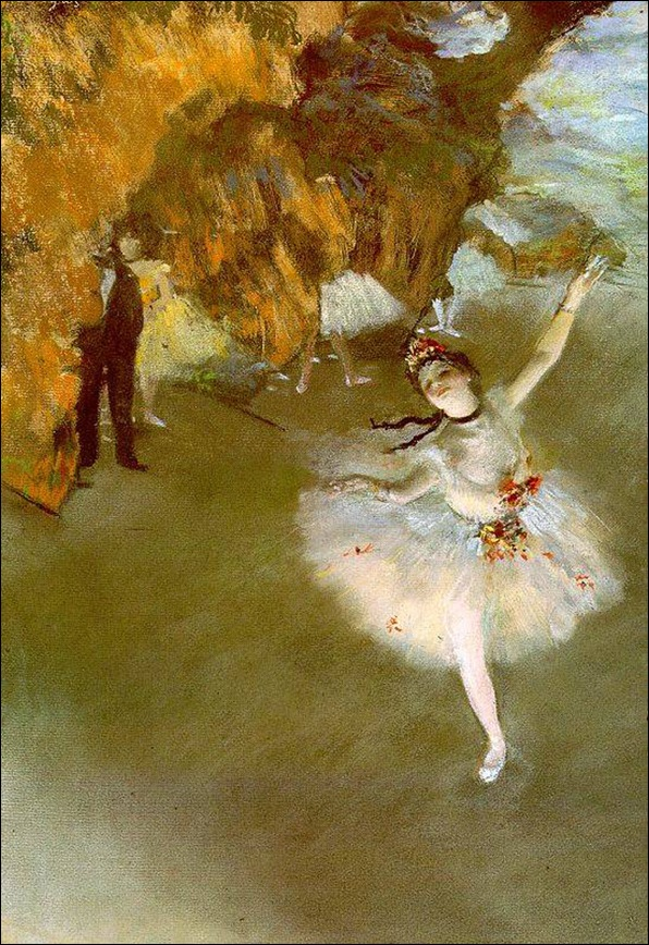 Эдгар Дега Танцовщица на сцене